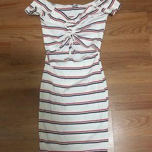 Tight mini dress
